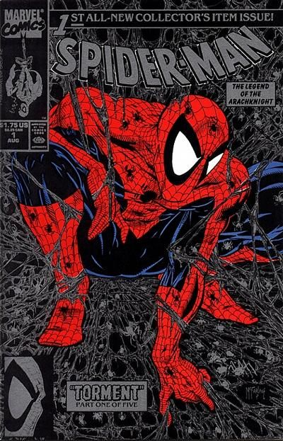 Spider-Man #1 cover by Todd McFarlane