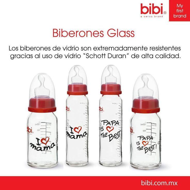 Los #BiberonesGlass de #Bibi te van a encantar, conoce sus beneficios y diferentes presentaciones en nuestra #TiendaOnline ☛ http://bit.ly/TiendaBibi