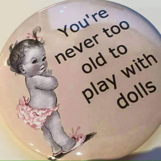 """well... maybe too old to """"play"""" with them but never to old to admire, collect, and reminisce. (or have them """"speak"""" on your pinterest board!!)"""