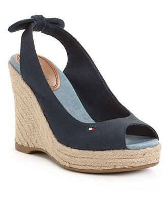 Tommy Hilfiger Wedge Sandals... i am in L<3 VE with theses
