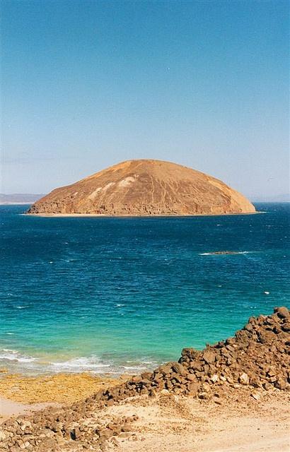 Goubet island, Horn of africa, Djibouti