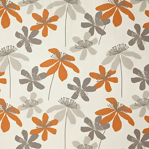 Buy John Lewis Passion Flower Lined Pencil Pleat Curtains Online at johnlewis.com