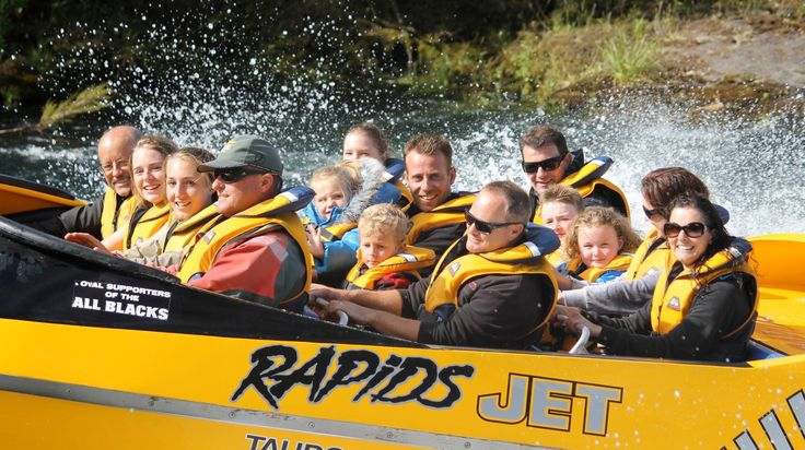Specials/Combos - Rapids Jet - Taupo Jet Boat