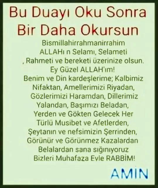 Eines der Gebete, die jedes Mal gelesen werden müssen   – Dualar