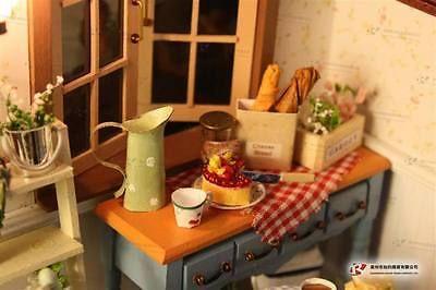 Hágalo usted mismo de Madera Casa de Muñecas en Miniatura Kits Lodge ciudad delicioso desayuno Serie Nuevo