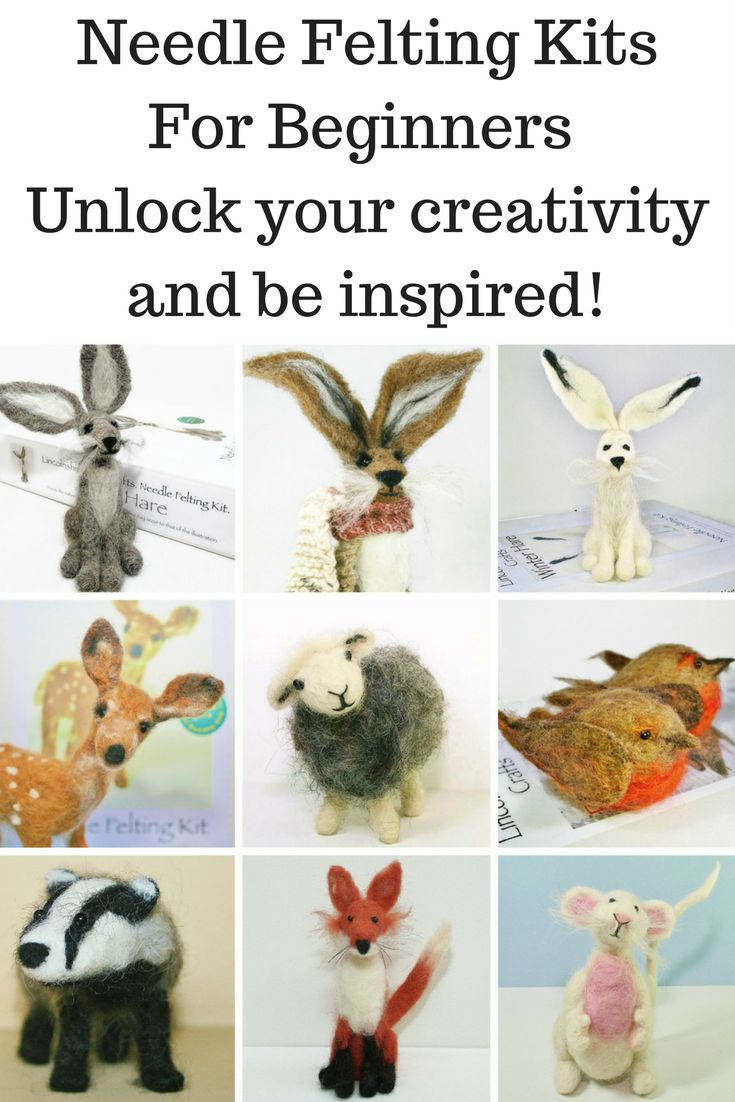 Needle felting kits and tutorials for beginners. Designed to inspire, and unlock, your creativity. No sewing or fancy equipment. Just add enthusiasm. As seen on Channel 4's popular TV show, 'Craft It Yourself'.