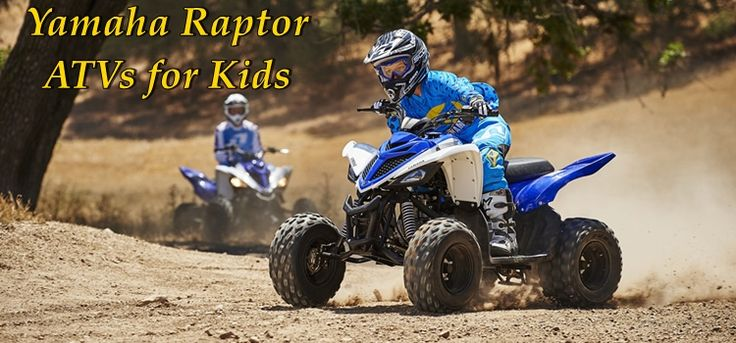 These fantastic Yamaha Raptor ATVs are sure-fire ways to bring smiles to your children's faces and laughter and warmth to their hearts.Check them out today!  https://www.kidsatvsale.com/yamaha-raptor-atvs-kids/