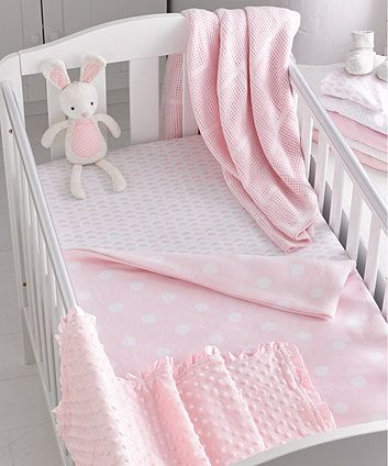 Mothercare Jersey Ed Cot Bed Sheet Chevron