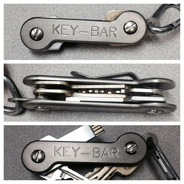 Titanium KEY-BAR - super durable (and more expensive) version of the keysmart
