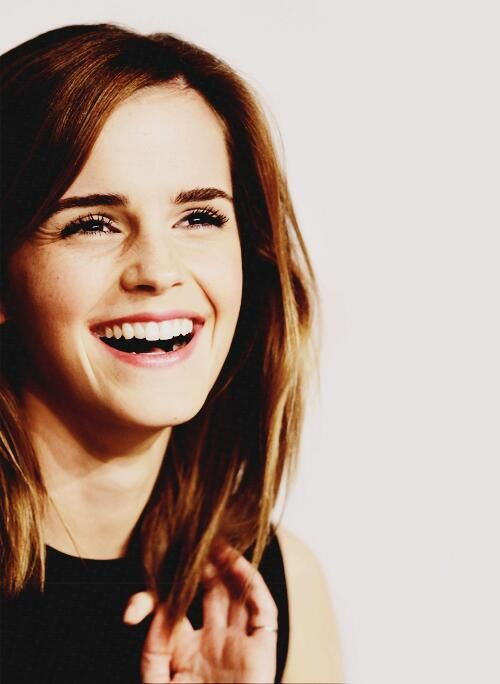 emma watson aka best smile ever.
