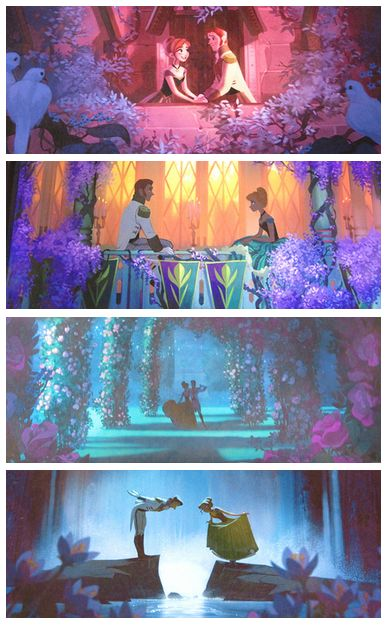 Disney's Frozen (Concept Art) - Totally should have been hand-drawn.