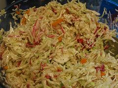 yummiest cole slaw ever - no mayo and great on pulled pork sandwich!!!