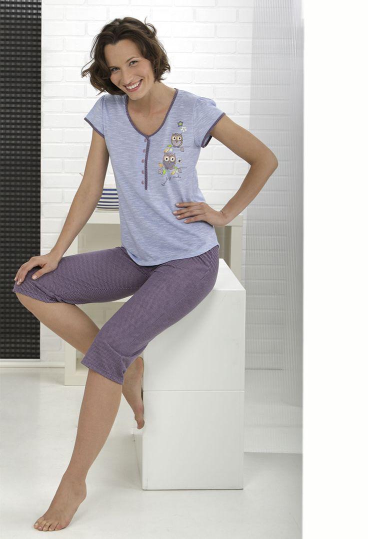 Pijama mujer pantalón pirata #women #massanahomewear
