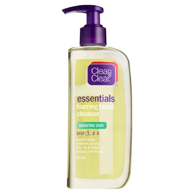 Foaming Facial Cleanser, Sensitive Skin.