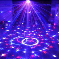 New Popular RGB LED Crystal Magic Ball Stage Effect Lighting Lamp Party Disco Club DJ Bar Light Show 100-240V EU US Plug