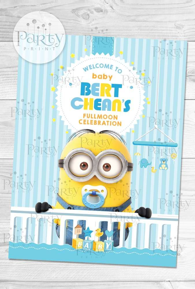 Despicable Me / Minions Baby Shower Party Ideas