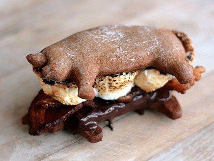 Bacon S'mores – Edible Crafts