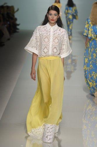 Emanuel Ungaro  Spring Summer 15  Paris Fashion Week