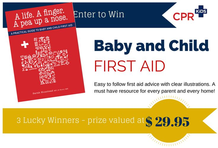 Week 2 Prize by CPR KIDS – First Aid
