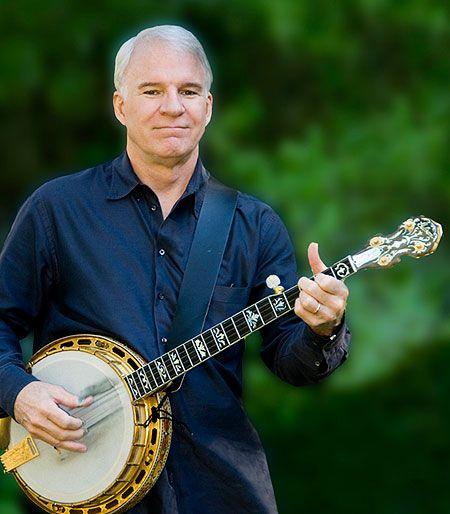 Steve Martin and Banjo