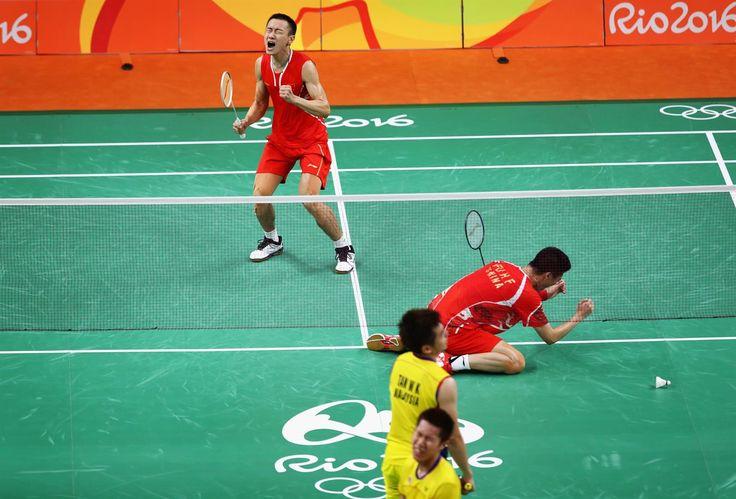 Fu, Haifeng, Zhang, Nan, Tan, Wee Kiong, Goh, V Shem - Badminton - China…
