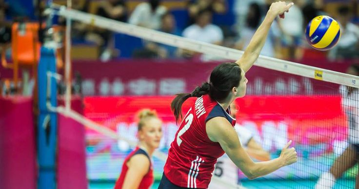 The United States' women's volleyball team dropped their final match at the FIVB Volleyball World Grand Prix on Sunday to Brazil to finish the weekend 2-1.