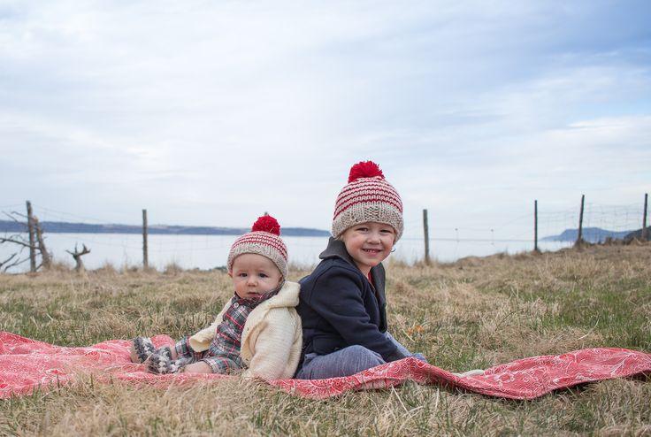Hand knits and sweet faces = big hearts