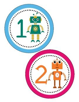 Robot Themed Classroom Setup... everything you need to complete your robot themed classroom! One stop shop!