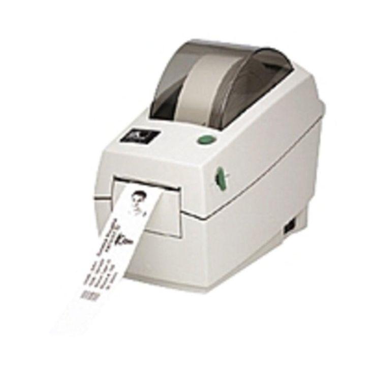 Zebra TLP 2824 Plus Thermal Transfer Printer - Monochrome - Desktop - Label Print - 2.20 Print Width - 4 in-s Mono - 203 dpi - 8 MB - USB - Ethernet - 2.36 - 39