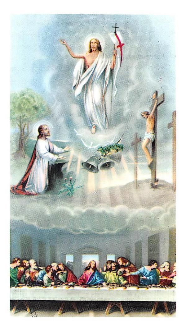 """NICE rare Holy cards """"H8941"""" holy jesus - CAD $4.95. Template 