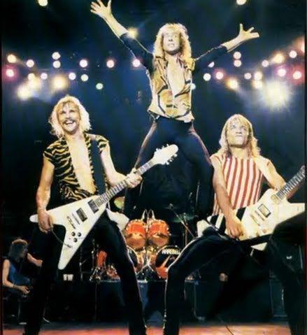 The Scorpions Blackout tour 1982