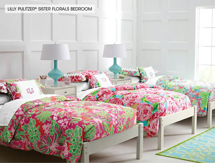 lilly pulitzer sister florals bedroom kid 39 s room pinterest