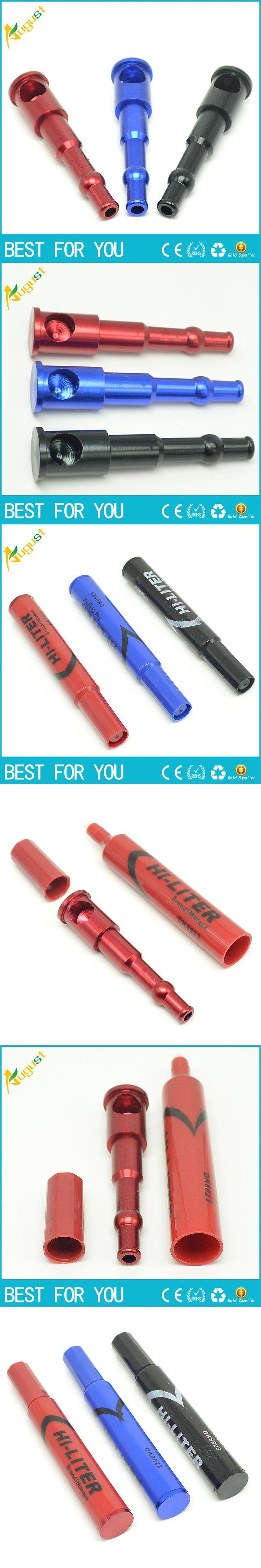 10pcs/lot  new pen design marker pen smoking pipe sneak a toke click vape vapor cigarettes pipe