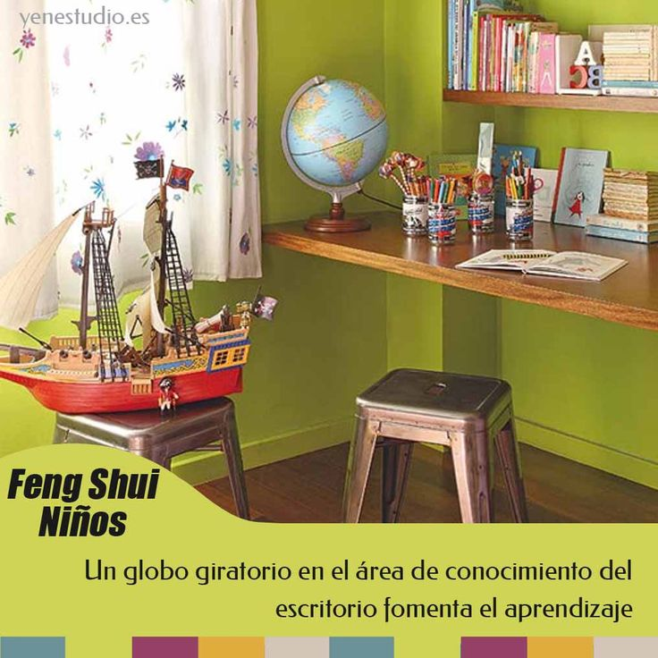 15 best feng shui ni os images on pinterest escritorios for Decoracion de habitaciones segun el feng shui