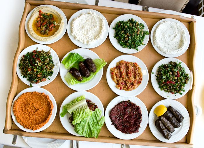 Akdeniz Hatay Sofrası.. Zeytinyağlı mezeler, salatalar..<3