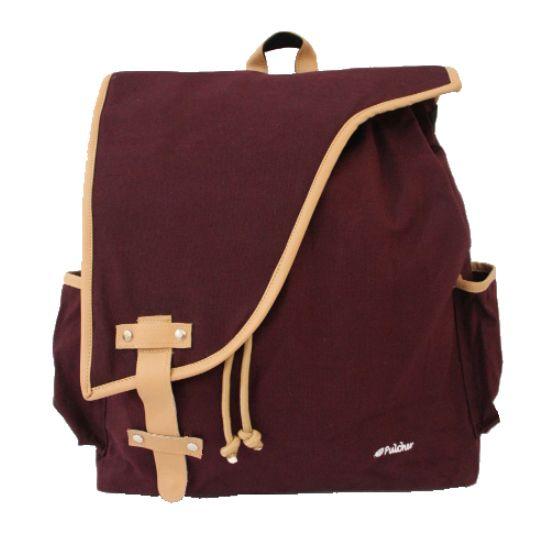 tas ransel vintage,,  pulcher bags - corvus maroon Rp. 219.000 085.7722.555000 -- tasranselvintage.com