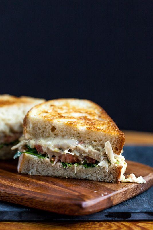 "Jackfruit ""Tuna"" Melt Sandwich"