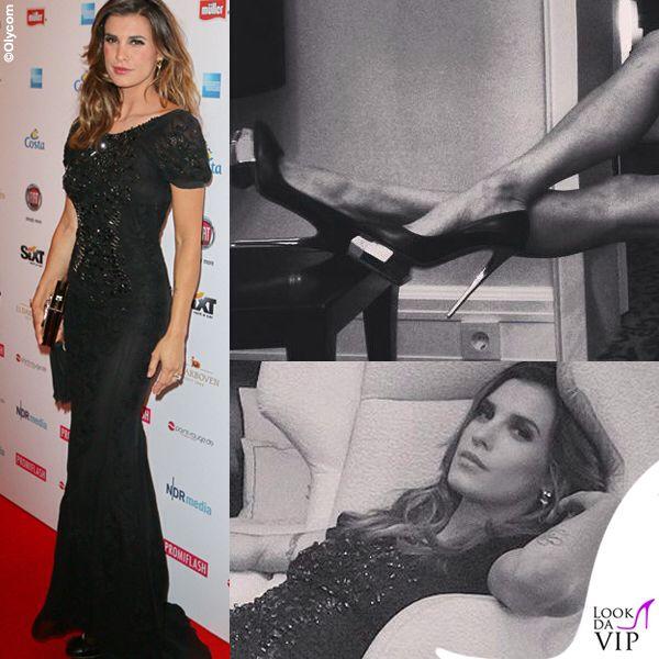 "Mambrini Milano ""Elisabetta Canalis indossa Diamond Shoes """
