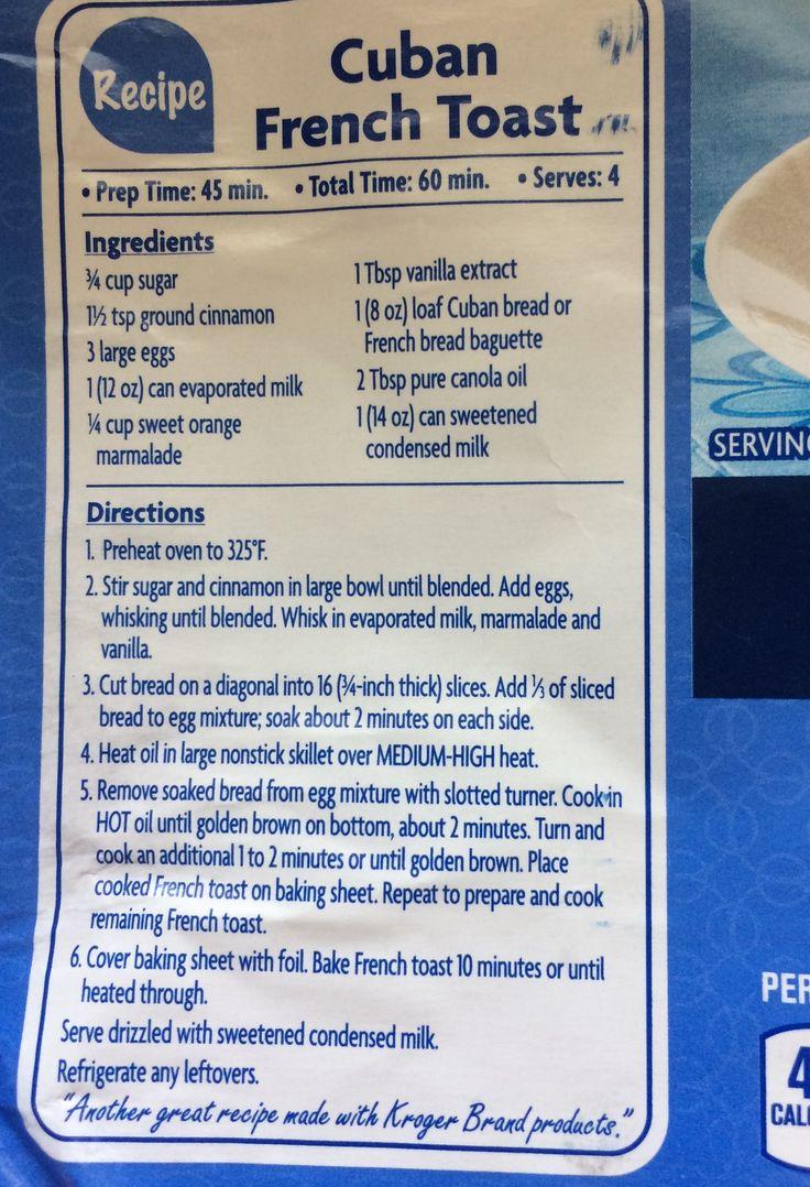 Recipe from Kroger Evaporated Milk. Digital coupons
