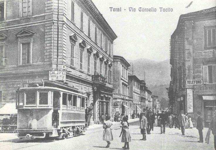 il Tram a corso Tacito Terni