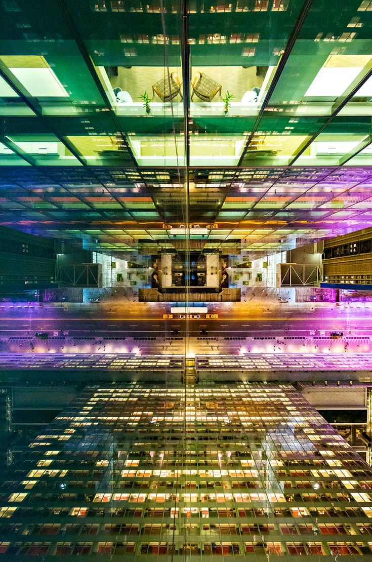 Photographer Donna Dotan took these amazing long exposure photographs of NYC from the perspective of skyscrapers