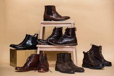 A round-up and guide to the best boots for men for fall 2015. Includes best chelsea boots, cap toe boots, suede boots, wingtip dress boots and casual boots.