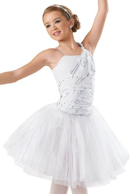 One Shoulder Sequin Tutu Dress -Weissman Cosumtes