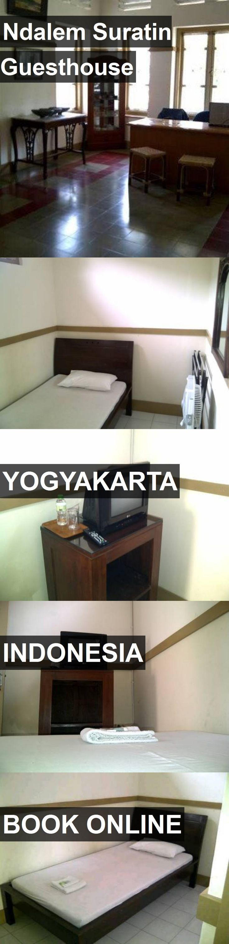 Hotel Ndalem Suratin Guesthouse in Yogyakarta, Indonesia. For more information, photos, reviews and best prices please follow the link. #Indonesia #Yogyakarta #travel #vacation #hotel