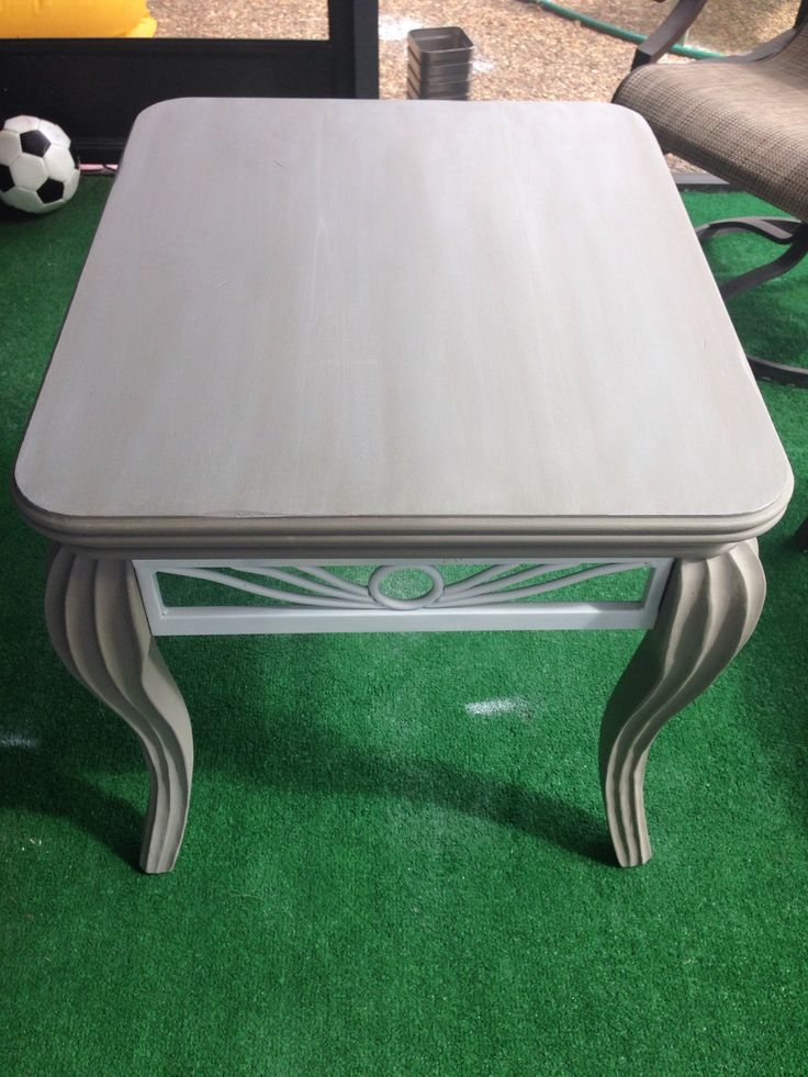 Refinished end tables, rustic, shabby chic, white wash, chalk paint, french linen, annie sloan, vintage, antique, solid wood by IAECreations on Etsy https://www.etsy.com/listing/267082288/refinished-end-tables-rustic-shabby-chic