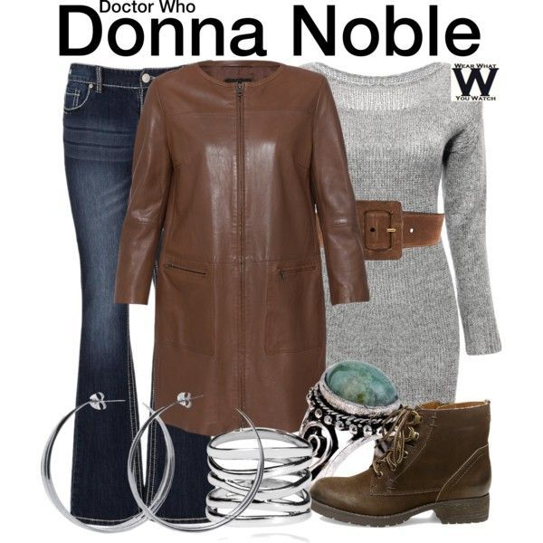 Inspired by Catherine Tate as Donna Noble on Doctor Who - Shopping info!