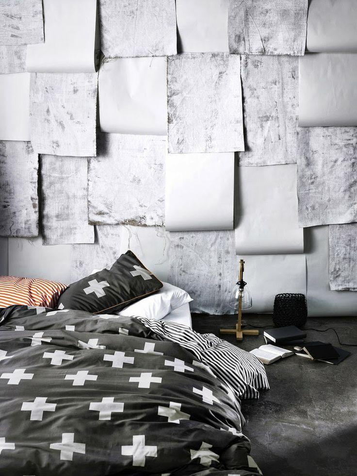 Crosses Duvet Cover | SE3 Like the walls.
