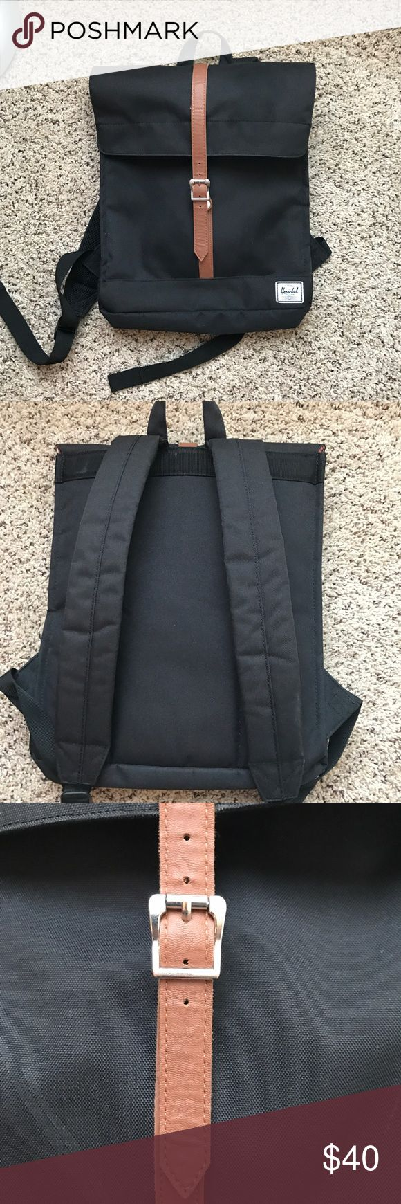 Herschel City Backpack In great condition. There is some sign of wear on the buckling strap, but otherwise it is in near new condition. Herschel Supply Company Bags Backpacks