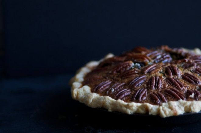 Pecan Pie with Sprouted Spelt Crust. The sweet, deep flavor of maple ...