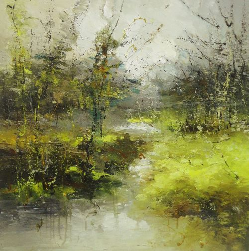 Woodland Claire Wiltshire Contemporary British